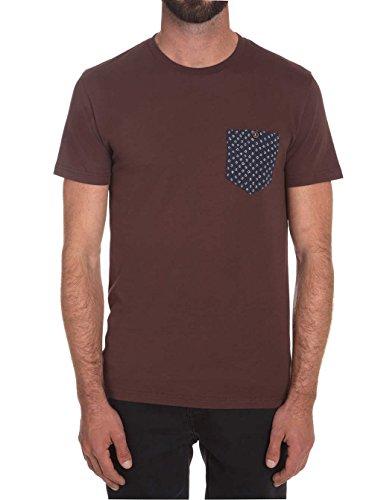 Volcom Barko Pkt Shirt Kurzärmelig Plum