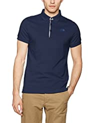 The North Face Polo Premium Uomo, Blu, XL