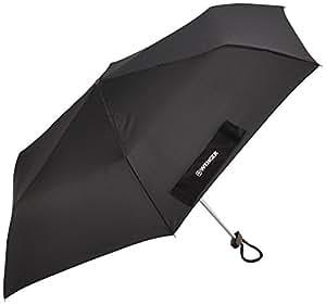 Wenger Regenschirm Flacher Taschenschirm (Schwarz) W1006