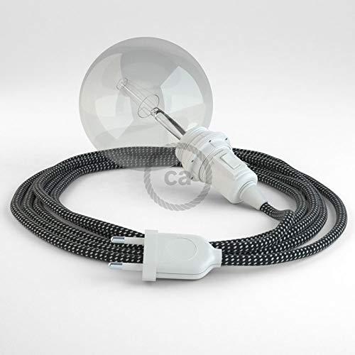 Creative-Cables Créez Votre Snake pour Abat-Jour 3D Étoiles RT41 et apportez la lumière là où Vous Souhaitez. - 5 Mètres, Noir