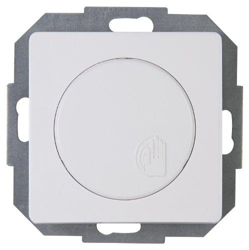 Kopp Tast-Dimmer stufenlos verstellbar, für Glühlampen und Halogenlampen, 40-400W/VA, UP, Touch-Dimmer