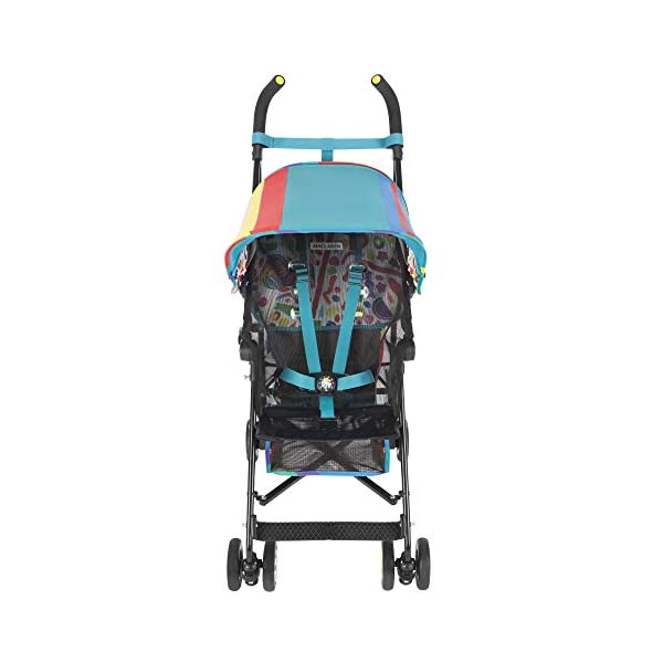 Maclaren Dylan's Candy Bar Volo Stroller - super lightweight, compact Maclaren Basic weight of 3.3kg/7.2lb; ideal for children 6 months and up to 25kg/55lb Maclaren is the only brand to offer a sovereign lifetime warranty Extendable upf 50+ sun canopy and built-in sun visor 20
