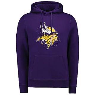 Fanatics Splatter Hoody - NFL Minnesota Vikings lila - L