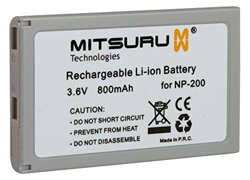 Mitsuru® batería para Minolta NP-200 NP200 recambio para Minolta Dimage Biz X Xg Xi Xt Z