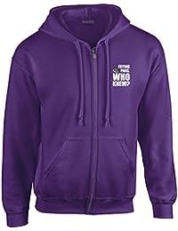 Brand88 - Frying Pans, Who Knew?, Full Zip Hooded Sweatshirt
