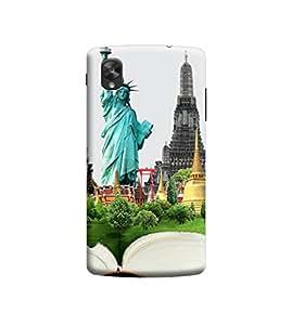 Ebby 3d printed back case cover for LG Nexus 5(Premium Designer Case)