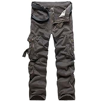 panegy adultes combat pantalons treillis militaire cargo armee pantalon de travail multi poches. Black Bedroom Furniture Sets. Home Design Ideas