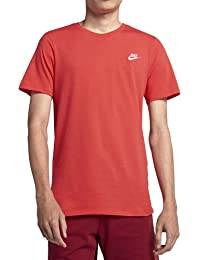 Nike Herren Club Embroidered Futura T-Shirt