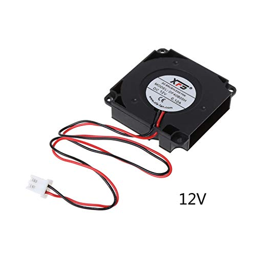 JUNESUN Ventilador Ventilador de refrigeración DC Turbo rodamiento de Bolas 3D Accesorios...