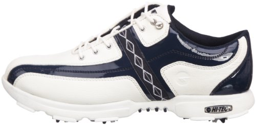 Hi-Tec, Scarpe da Golf donna, Bianco (Blanc / Marine), 37