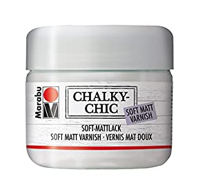 Marabu 26225851 - Chalky - Chic Soft Laca, 225 ml, Transparente