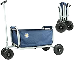 Beachtrekker LiFe Farbe blau Faltbarer Bollerwagen der Spitzenklasse