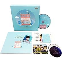 ASTRO 4th Mini Album - Dream Part.01 [DAY ver.] CD + Photobook + Postcard + Photocard + Transparent Photocard + FREE GIFT / K-pop Sealed