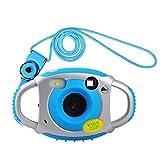 Funkprofi Kamera für Kinder Kinderkamera Fotoapparat Digital Camera Kid Cam Mini Camcorder 5 Megapixel 1,77 Zoll Display Geschenk und Spielzeug für Kinder (Blau)