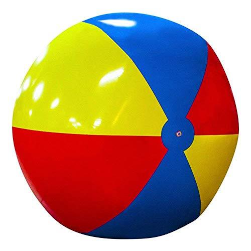 YIAIY Übergroße Aufblasbare Wasserball, Wasserspiele Im Freien Spielen Ball Wasser Spielzeug Schwimmen Lounge Chair Für Pool/Rasen/Party,300CM