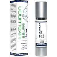Serum Acido Hialuronico Antiarrugas - Serum Facial de Ácido Hialuronico Antiedad - Acido Hialuronico 50ml con Vitamina C - Gel Anti Aging - Fabricado en Alemania