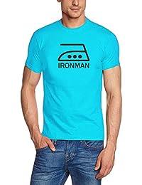 IRONMAN T-SHIRT - S M L XL 2XL 3XL 4XL 5XL