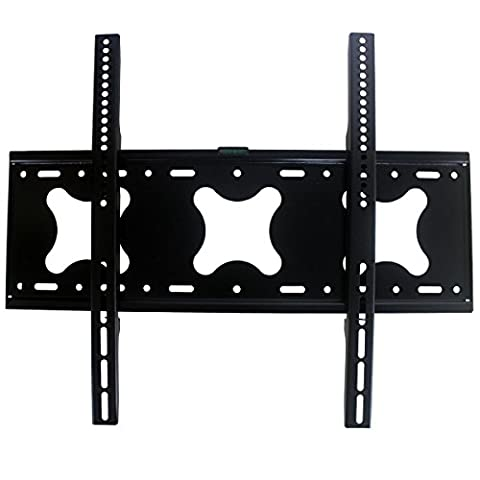 TV Wall Mount Fixed Position for most 42 - 75 inch Flat Screen Panel Plasma Monitor LED LCD up to 85kg VESA 600mm×500mm Metal
