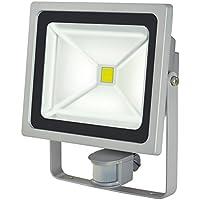 Brennenstuhl Chip LED-Leuchte 50W IP44 mit Bewegungsmelder Outdoor, 1171250502