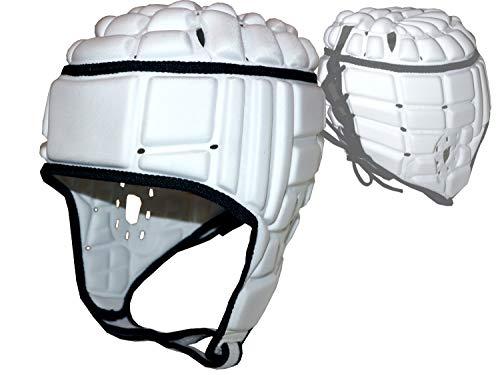adidas Rugby Kopfschutz weiß Schoner Kopf Headguard Protektor Sport, Größe:M