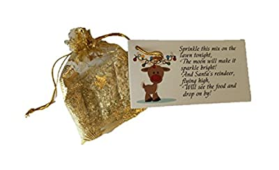 Other MAGIC BAG OF SPRINKLE REINDEER FOOD OATS DUST CHRISTMAS EVE SANTA FUN ACTIVITY : everything £5 (or less!)