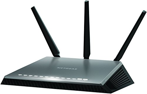 NETGEAR D7000-100UKS Nighthawk AC1900 Dual Band 600 + 1300 Mbps Wireless (Wi-Fi) VDSL/ADSL Modem Router for Phone Line Connections (BT Infinity, YouView, TalkTalk, EE and Plusnet Fibre) Test