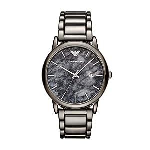 Emporio Armani Reloj Analógico para Hombre de Cuarzo con Correa en Acero Inoxidable AR11155