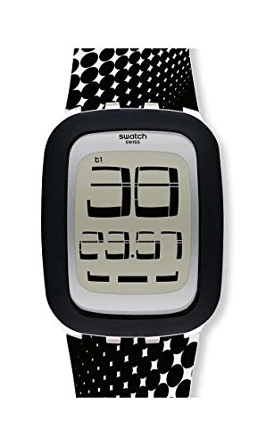 Swatch Orologio Digitale Uomo con Cinturino in Silicone SURW116
