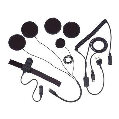 Casque à double haut-Parleur et Kit pour Microphone Casque intégral) 2 broches pour KENWOOD TK-Serie Etc.