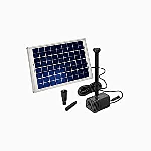 esotec shs solar teichpumpensystem mit akku gr e 2. Black Bedroom Furniture Sets. Home Design Ideas