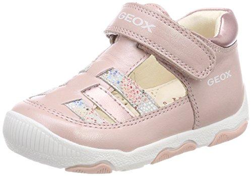 Geox Baby Mädchen B New Balu' Girl A Sandalen, Pink (Old Rose), 19 EU