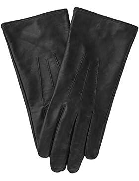 klassische Lederhandschuhe AMELIE für Damen von EEM aus echtem Leder, warm gefüttert