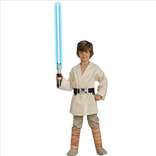 e Skywalker Kostüm Kinderkostüm Science Fiction Gr. S - L, Größe:M (Star Wars Luke Skywalker Kind Kostüme)