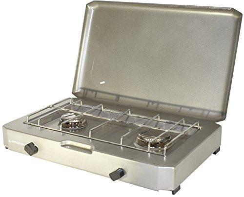PROVIDUS PROWELTEK PR1085 FT 200 Cucina Gas 2 luci con 2500 W di Copertura