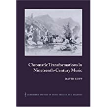 Chromatic Transformations 19C Music (Cambridge Studies in Music Theory and Analysis, Band 17)