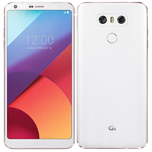 LG G6 Smartphone da 32 GB, Bianco