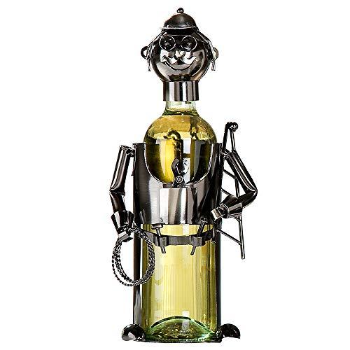 Gilde Flaschenhalter 'Elektriker', 22 cm