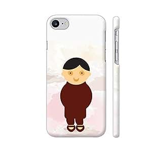 Colorpur Cute Baby Boy Artwork On Apple iPhone 7 Cover (Designer Mobile Back Case)   Artist: Designer Chennai
