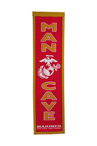 Winning Streak US Marine Corps Man Cave Banner -