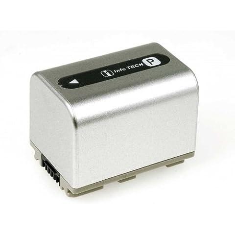 Batería para Sony modelo NP-FP71 1500mAh
