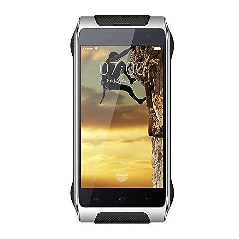 Haehne Homtom HT20 - 4,7 Zoll 4G HD Smartphone, Dünnsten