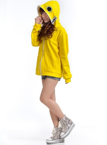 tryoshka Doll Cosplay hoodie, gelb, Größe XL:(Höhe 168-172cm,Gewicht 60-70kg) (Gumi Cosplay Kostüm)
