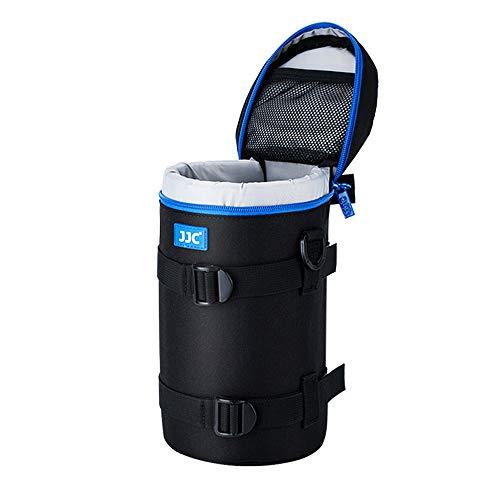 PROfoto.Trend/JJC DLP-6II Deluxe Objektiv Tasche mit Umhängeband, Wasserabweisend, Schwarz, passt Objektiv Durchmesser und Höhe unter 113 x 240mm [Siehe Beschreibung für die Kompatibilität]
