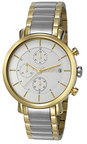Joop! Damen-Armbanduhr Emma Chronograph Quarz Edelstahl JP101772005