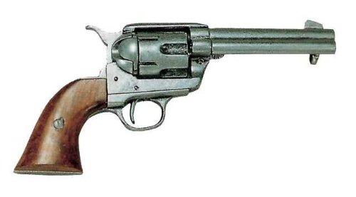 Denix Replica Colt Peacemaker 45 er Kaliber grau Pistole -
