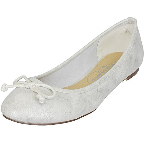 Refresh Shoes, Ballerine donna Oro oro, Oro (argento), 40