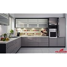 Suchergebnis auf Amazon.de für: Küchenzeile ohne Elektrogeräte | {Küchen l form mit elektrogeräten 55}