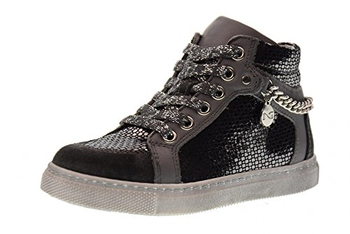 NERO GIARDINI chaussures junior baskets A732490F / 137 Anthracite