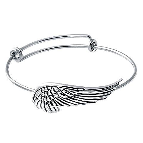 Senfai Supernatural protection Ailes d'ange réglable Amour Bracelets Charm Girl Femme Barcelets cadeaux
