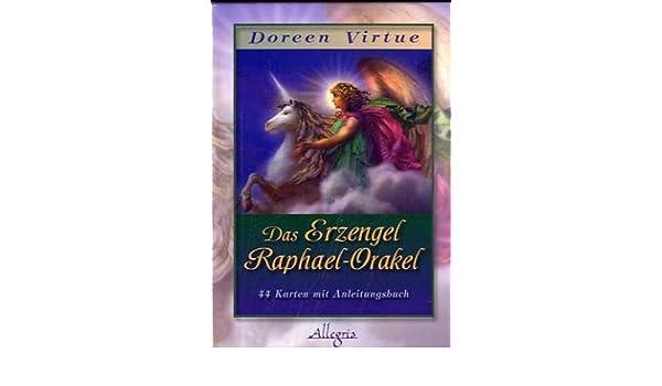 Das Erzengel Raphael Orakel Kartendeck Amazon Co Uk Doreen